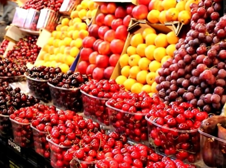 Разновидности ягод по семейству